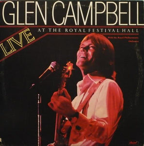 Glen Campbell With The Royal Philharmonic Orchestra ‎– Live At The Royal Festival Hall (2 discs)