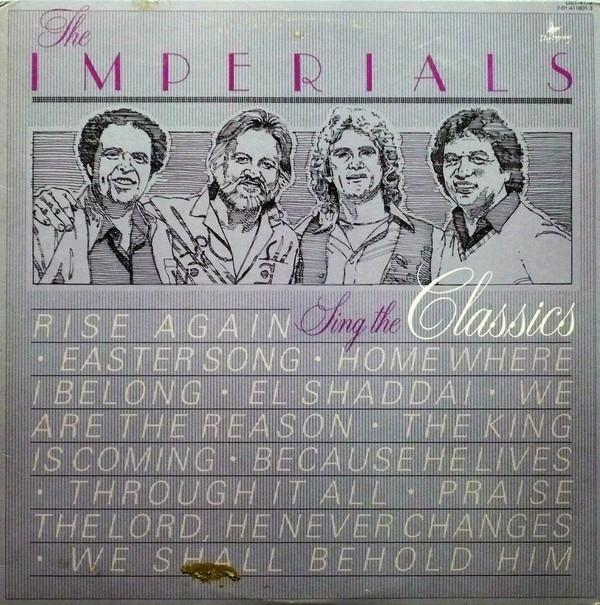 The Imperials ‎– Sing The Classics
