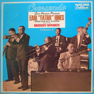 Earl Hines And His All-Stars Featuring Muggsy Spanier ‎– At The Crescendo Volume 2