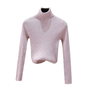 LASPERAL 2019 Sweater Female Autumn Winter Cashmere Knitted Solid Women Sweater And Pullover Female Bodysuit Jumper Pull Femme