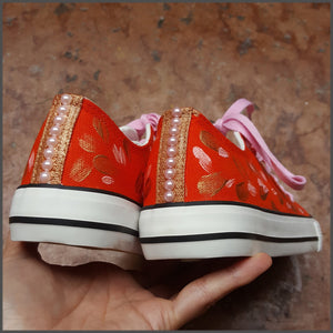 Tenisi Low Top Pictati Manual - Coral Gold