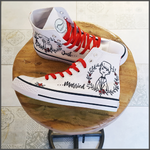 Tenisi High Top Printati - Just Married 1