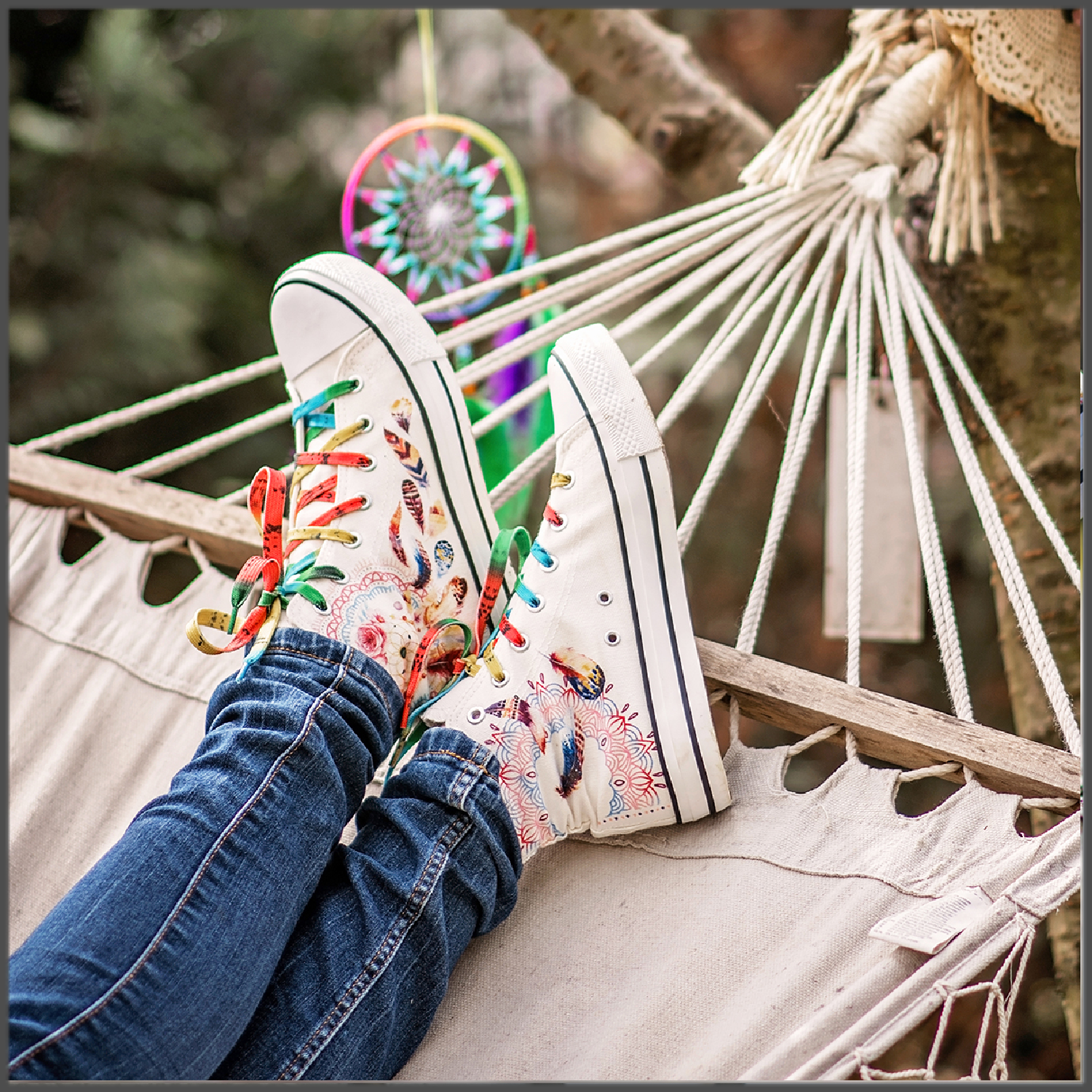 Tenisi High Top Printati - Dreamcatchers