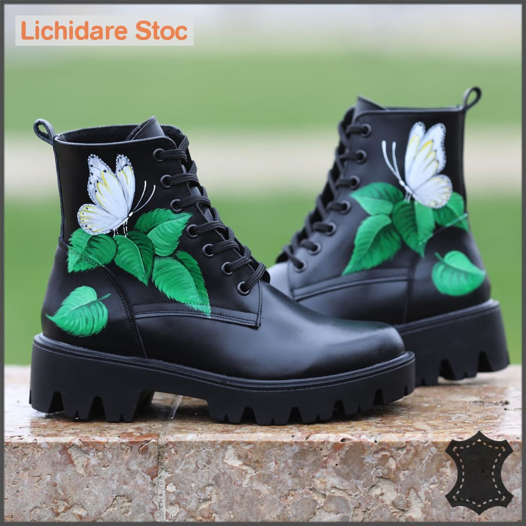 Ghete Model 2019 Soft Butterfly 39 Boots
