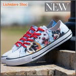 Tenisi Printati Low Top - Funny Dogs 39