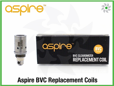 Aspire BVC Dual Replacement Coil