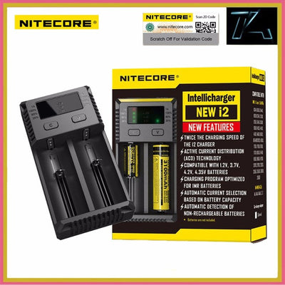 Nitecore I2 Intellicharger Charger (2016)