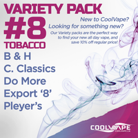 10ml Variety Pack #8 - Tobacco