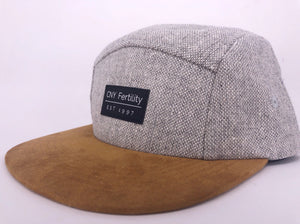 CNY Woven Cotton Suede  Hat