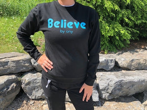 Believe by CNY Pull Over Sweatshirt