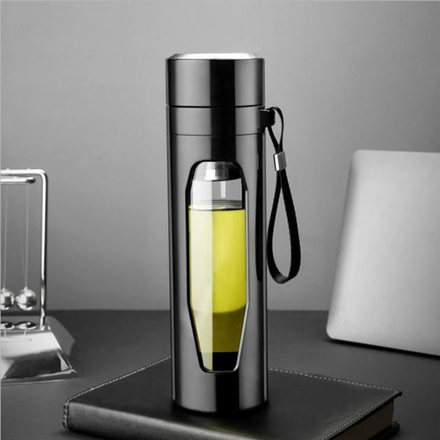 Glass Tea Water Bottle Infuser | ForYouBottle - Foryoubottle
