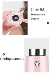 Diamond LED Digital Thermoses Water Bottle | ForYouBottle - Foryoubottle