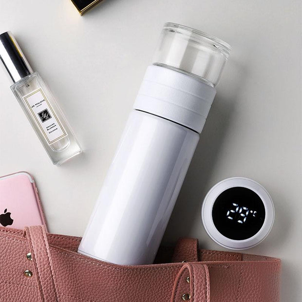 Thermos Water Bottle With Tea Filter | ForYouBottle - Foryoubottle