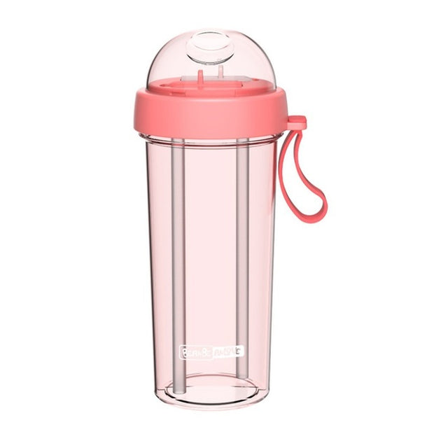 Double Sippy Water Bottle
