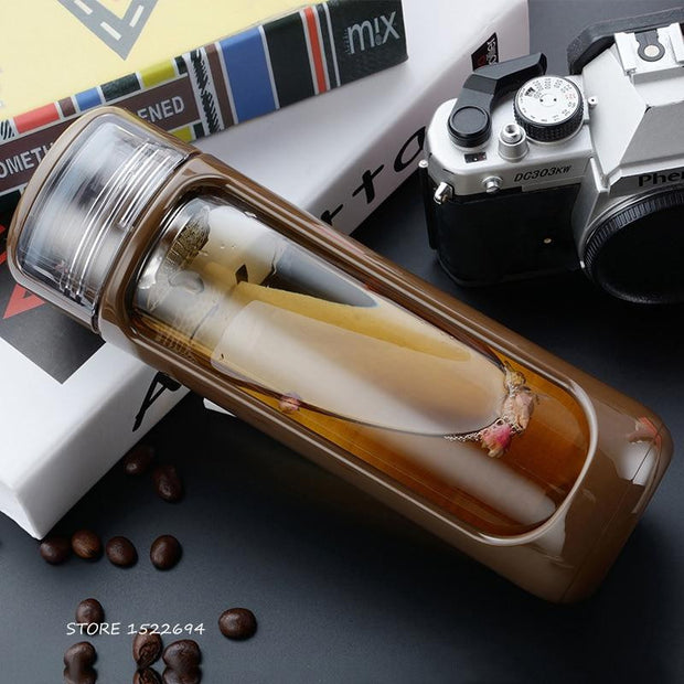 Elegant Infuser Water Bottle | ForYouBottle - Foryoubottle