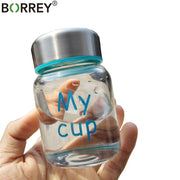 BORREY Glass Small Water Bottle