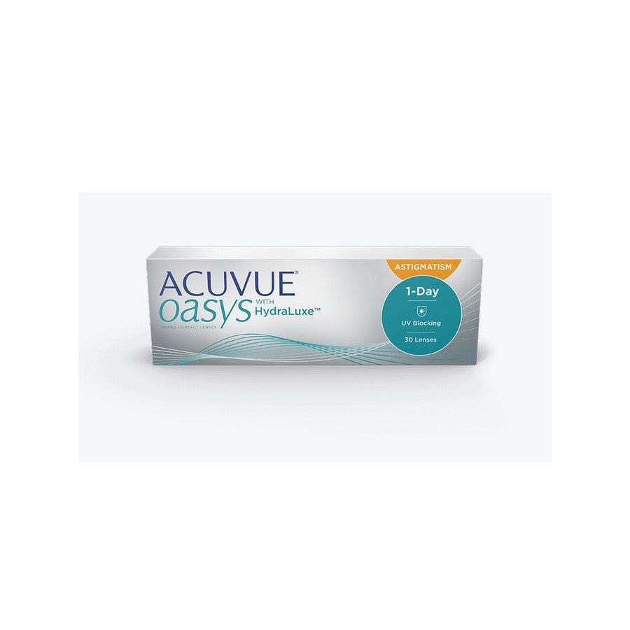 Lentilles Acuvue Oasys 1-Day for Astigmatism - Journalière pour astigmatisme - Silicone Hydrogel