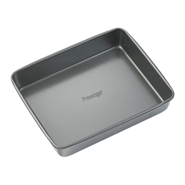 Prestige Easy Release non stick roasting tray. This oven tray is made from heavy gauge steel & powerful non stick for easy food release & cleaning