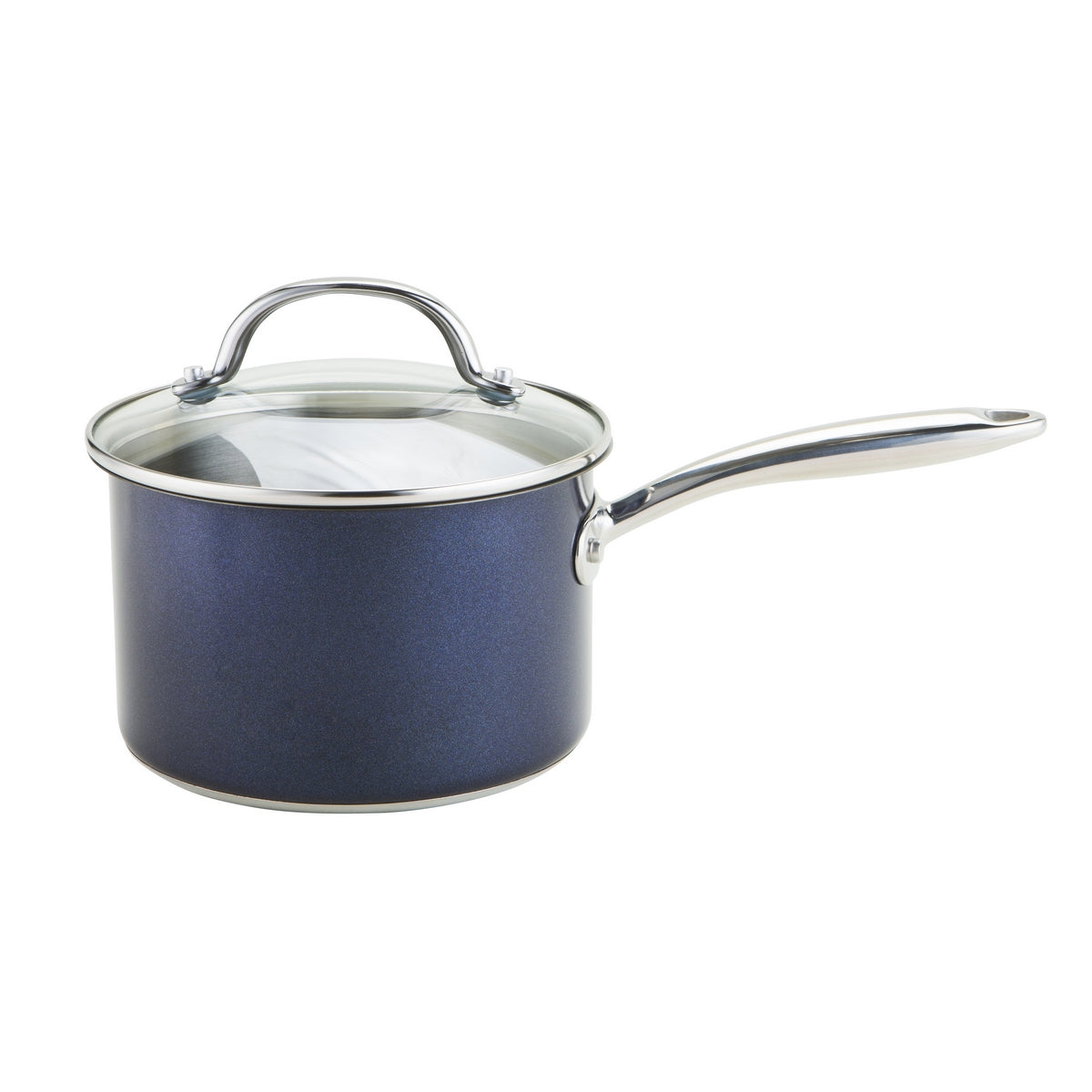 An image of 10 Year Stainless Steel Saucepan 16cm