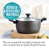 Earth Pan PFOA free cookware is made from recycled & recyclable materials