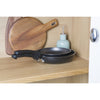 Neat Nests from Prestige. A non stick nesting cookware frying pan duo set that saves you cupboard space in your kitchen