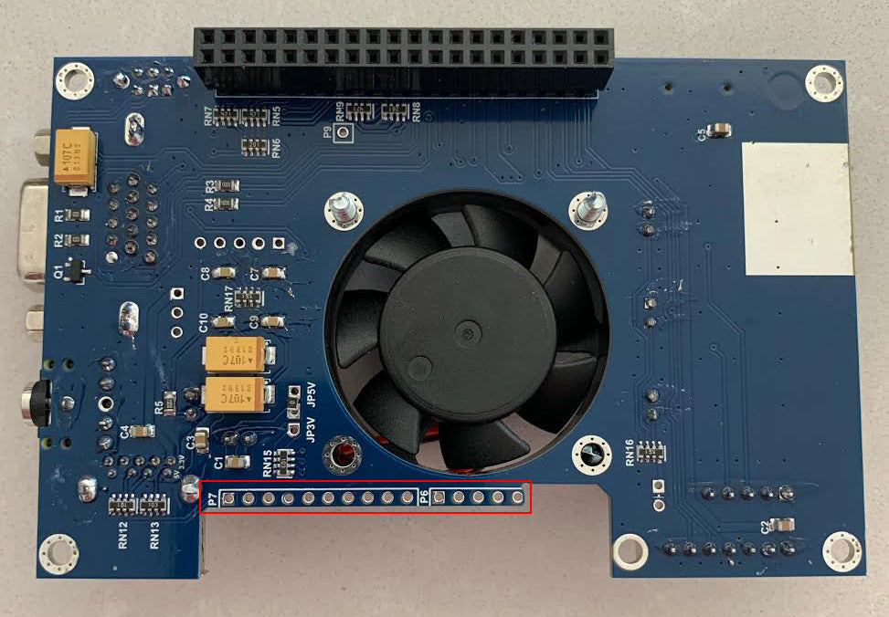 IO Board with missing P7 header