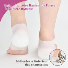 Semelle Invisible de Rehaussement +2,5 cm