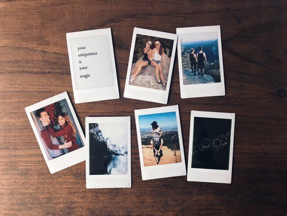 Polaroid Prints (Set Of 5)