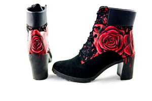 "Bottines ""Lady Tim Rosa"""