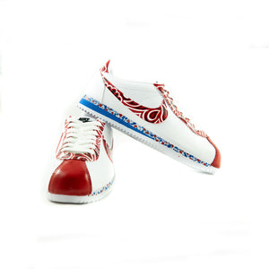 "Sneakers Cortez ""Blood and Crips"""