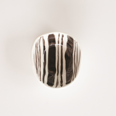 JS Ceramics Stripe Bowl Small