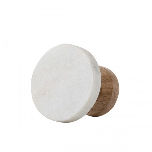 Hook Wooden Marble Medium