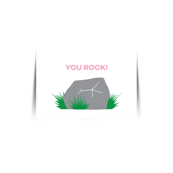 You Rock Quote Card
