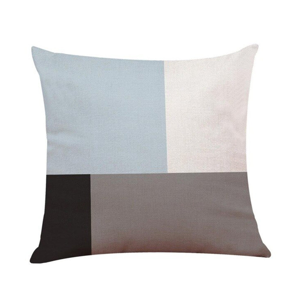 Cushion Asymmetrical Blue