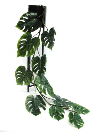Faux Plant Grand Monsteria Garland