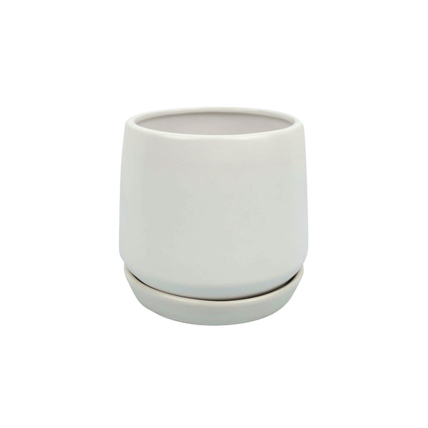 Planter Copenhagen White Small