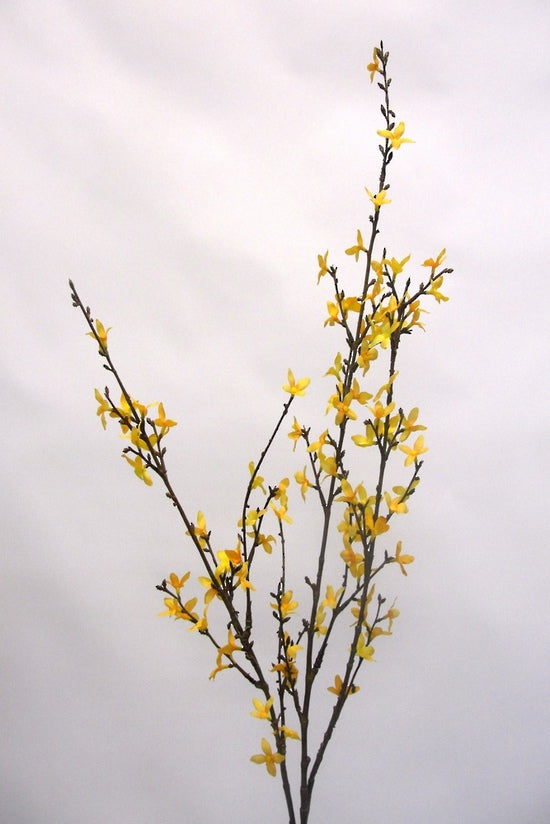 Faux Plant Forsythia Yellow