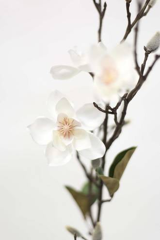 Artificial Plant Wild Magnolia Spray Pink & White