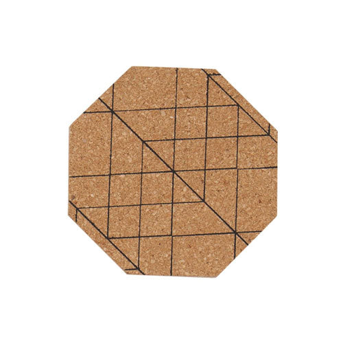 Coaster Octagon Set of 4