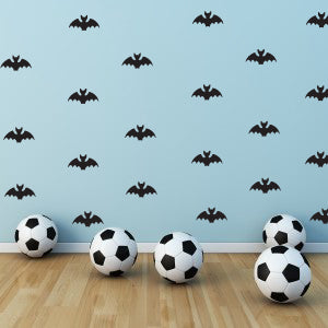 Black Bat Wall Decals