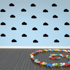 Black Clouds Wall Decals