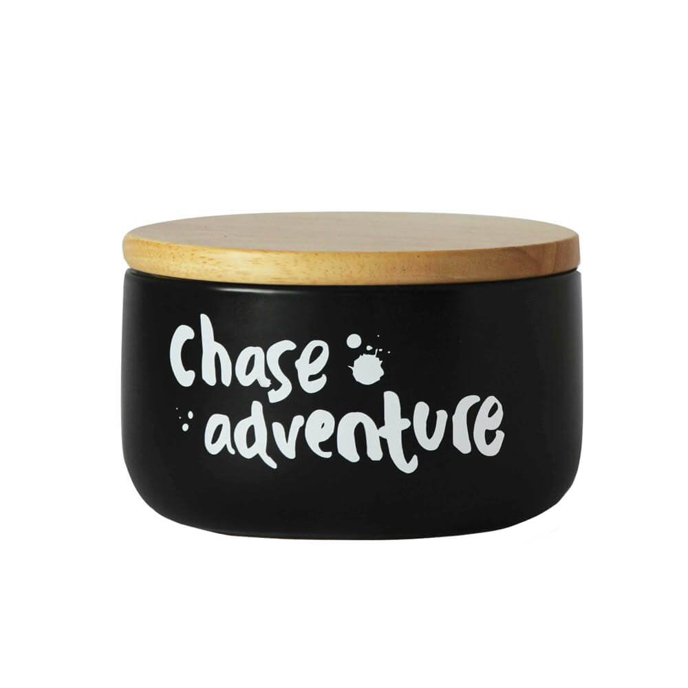 Chase Adventure' Black & White Canister