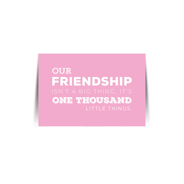 Quote Card Friendship