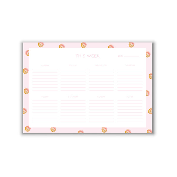 Weekly Planner Glitter & Gold A4