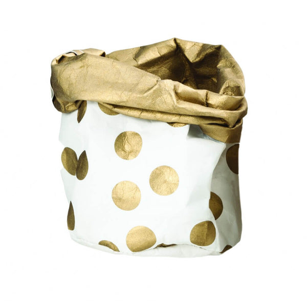 Gold Spot Small Wash Paper Bag