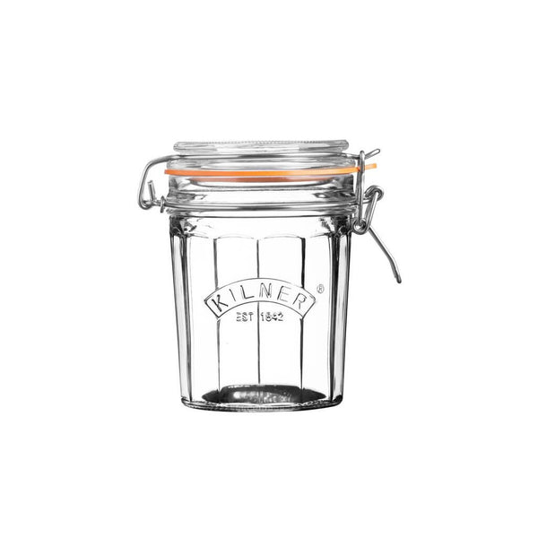 Kilner Faceted Clip Top (0.45Ltr) Jar