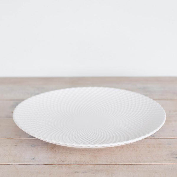 Platter Lattice White