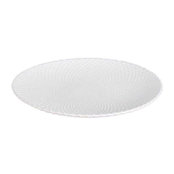 Lattice White Platter