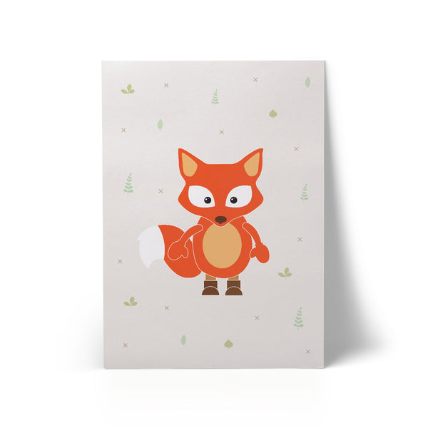 Little Fox A3 Art Print