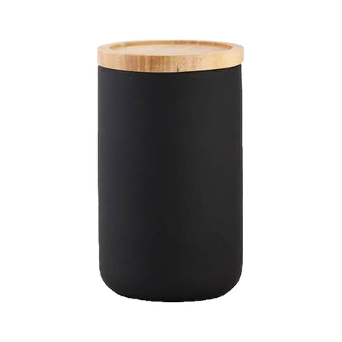 Canister Matte Black Tall